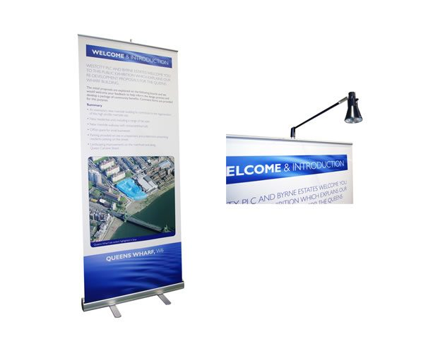 Recoil_Lite Banner_Stand