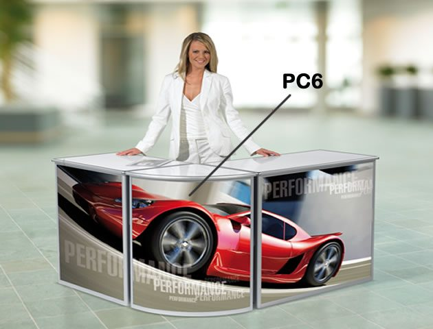 Promotional Counter Combination compass manchester