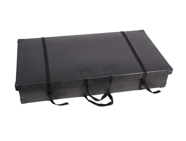 Exhibition Stand Cases : Fibre board exhibition stand carry cases compass display systems