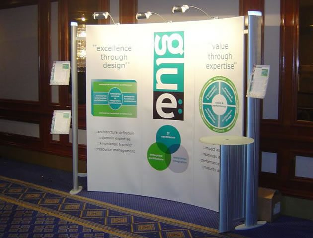 Exhibition Stand Replacement Graphics : Replacement exhibition stand graphics compass display