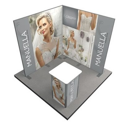 vector lite exhibition stand 1 compass manchester