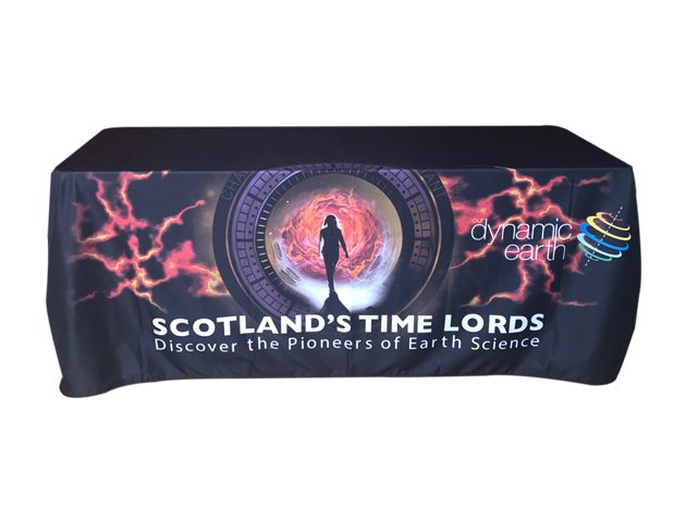Scotland timelord printed tablecloth