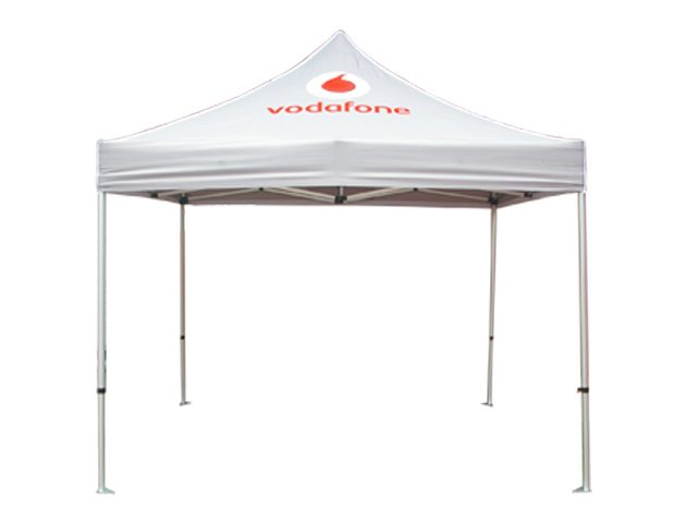 vodafone logo pop up gazebo tent